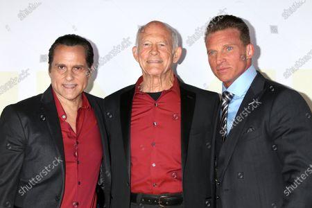 Maurice Bernard, Max Gail, and Steve Burton