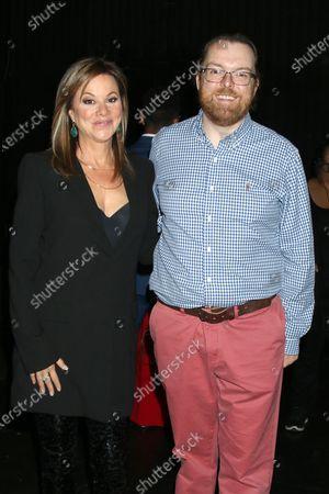 Stock Image of Nancy Lee Grahn and Adam Sharp