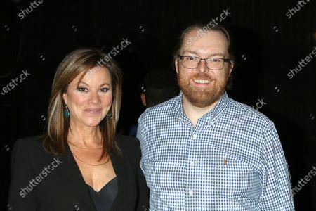 Nancy Lee Grahn and Adam Sharp