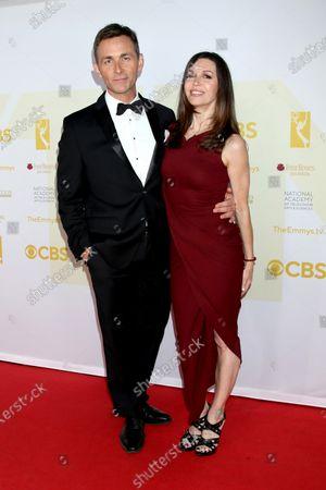 James Patrick Stewart and Finola Hughes