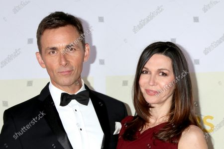 Stock Picture of James Patrick Stewart and Finola Hughes