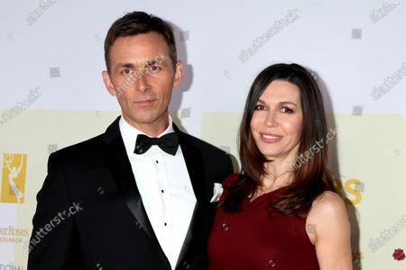 Stock Image of James Patrick Stewart and Finola Hughes