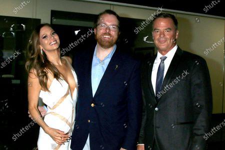 Stock Picture of Tamara Braun, Adam Sharp, and Wally Kurth