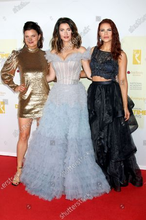Heather Tom, Jacqueline MacInnes Wood, and Courtney Hope