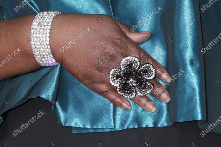 Sheryl Underwood ring detail