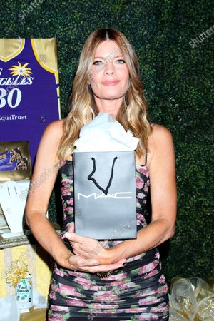 Michelle Stafford with MAC Bag