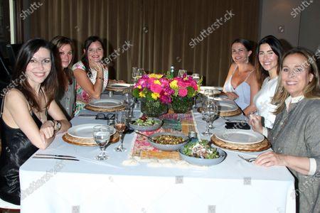 Finola Hughes, Nancy Lee Grahn, Heather Tom, Melissa Claire Egan, Jacqueline MacInnes Wood, and Nancy Lee Grahn