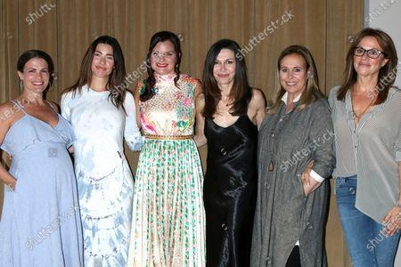 Melissa Claire Egan, Jacqueline MacInnes Wood, Heather Tom, Finola Hughes, Genie Francis, and Nancy Lee Grahn