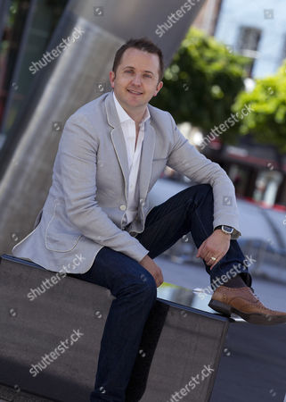 Tim Rhys-Evans, founder and musical director of the choir Only Men Aloud!