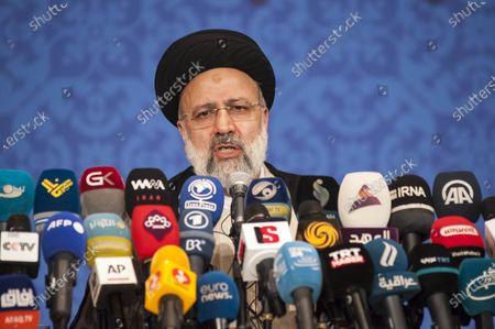 President-Elect Ebrahim Raisi press conference, Tehran