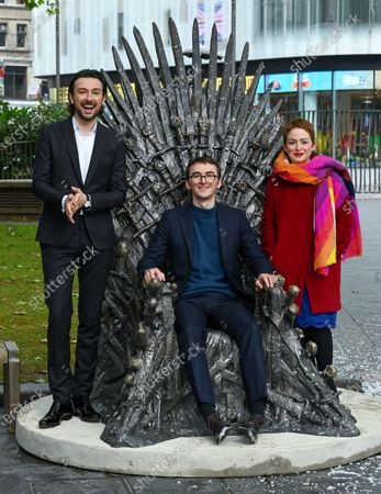 Editorial picture of Game of Thrones 'The Iron Throne' statue unveiling, Leicester Square, London, UK - 22 Jun 2021