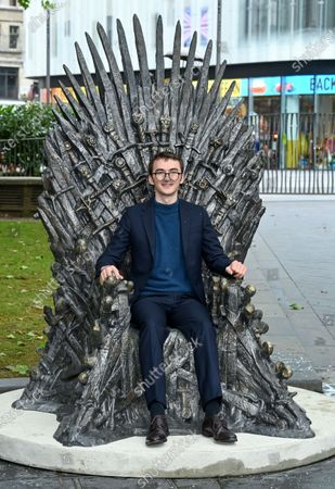 Editorial photo of Game of Thrones 'The Iron Throne' statue unveiling, Leicester Square, London, UK - 22 Jun 2021