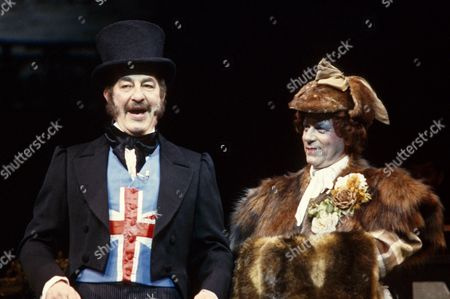 The RSC production of 'Poppy' - Alfred Marks and Geoffrey Hutchings