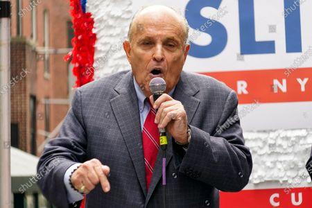 Rudy Giuliani endorses Curtis Sliwa for New York Mayor