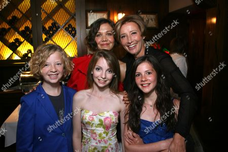 Maggie Gyllenhaal, Emma Thompson, Eros Vlahos, Rosie Taylor and Lil Woods