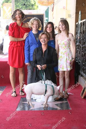 Maggie Gyllenhaal, Emma Thompson, Eros Vlahos, Lil Woods and Rosie Taylor