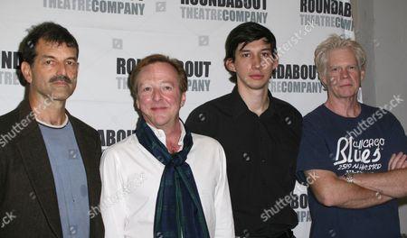 Stock Picture of Mark Harelik, Edward Hibbert, Adam Driver, Michael Siberry