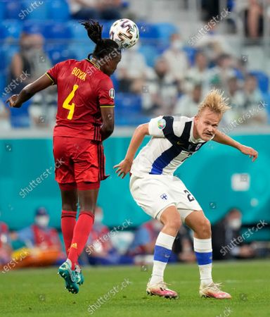 Editorial picture of Russia Finland Belgium Euro 2020 Soccer, St. Petersburg, Russian Federation - 21 Jun 2021