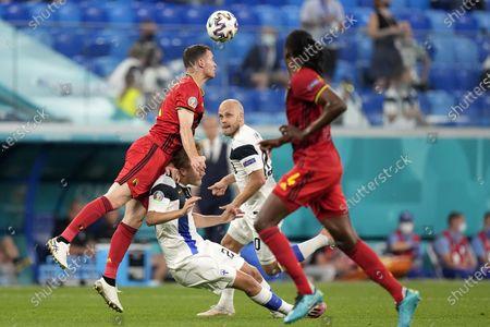 Editorial photo of Russia Finland Belgium Euro 2020 Soccer, St. Petersburg, Russian Federation - 21 Jun 2021