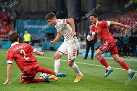 Editorial picture of Russia Euro 2020 Soccer, Copenhagen, Denmark - 21 Jun 2021