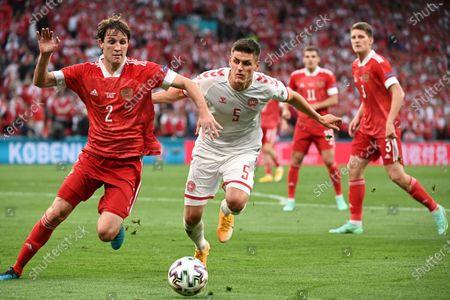 Editorial image of Russia Euro 2020 Soccer, Copenhagen, Denmark - 21 Jun 2021