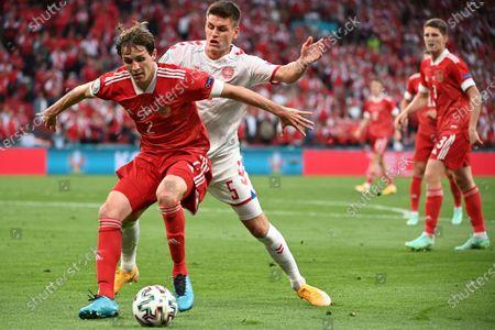 Editorial photo of Russia Euro 2020 Soccer, Copenhagen, Denmark - 21 Jun 2021