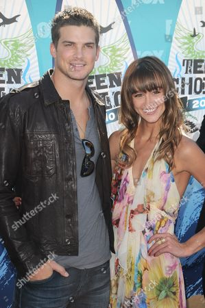 Rick Malambri and Sharni Vinson