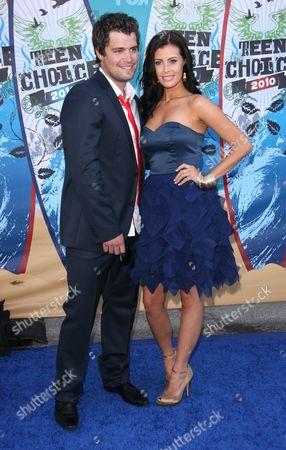 Stock Picture of Levi Johnston and Brittani Senser