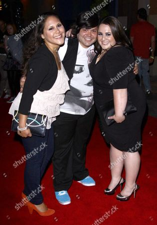 Ashley Holliday, Harvey Guillen and Nikki Blonsky