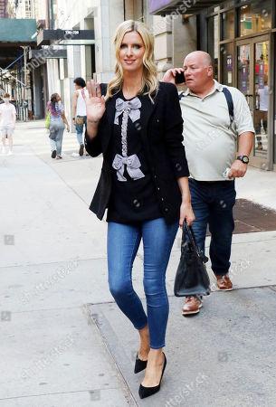 Nicky Hilton Rothschild is seen in Soho