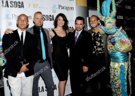 Juan Fernandez, Josh Crook, Denise Fernandez, Manny Perez and Paul Calderon