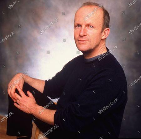British journalist/novelist Jim Crace, author of QUARANTINE, in affable portrait.