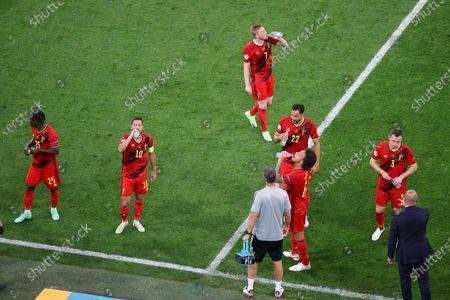 Editorial image of Finland Vs Belgium in Saint Petersburg, Russia - 21 Jun 2021