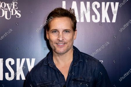 Peter Facinelli poses on the red carpet prior to the premiere of Lansky at the Harmony Gold Theater in Los Angeles, California, USA, 21 June 2021. The movie is set to be released on 25 June 2021.