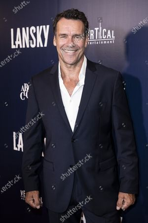 Stock Image of David James Elliott poses on the red carpet prior to the premiere of Lansky at the Harmony Gold Theater in Los Angeles, California, USA, 21 June 2021. The movie is set to be released on 25 June 2021.