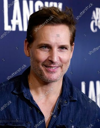 """Actor Peter Facinelli poses at the Los Angeles premiere of the film """"Lansky"""" at the Harmony Gold Theatre, in Los Angeles"""
