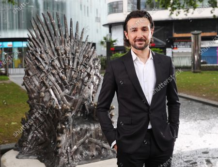 Game of Thrones 'The Iron Throne' statue unveiling, London