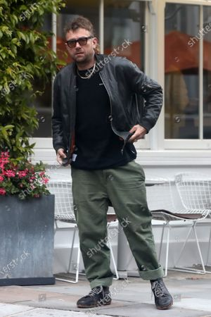 Damon Albarn out and about, London