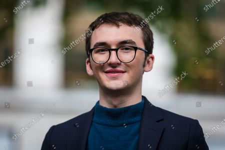 British actor Isaac Hempstead Wright during the Game Of Thrones Iron Statue unveiling photocall in Leicester Square, London, Britain, 22 June 2021. The Iron Throne statue marks the tenth anniversary of the Game of Thrones and is the final statue unveiled as part of Leicester Square's 'Scenes in the Square'.
