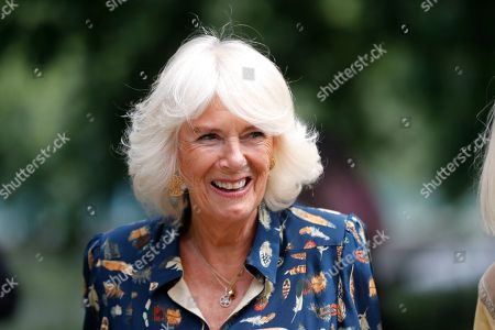 Camilla Duchess of Cornwall launches Elephant Family Story Trail, London