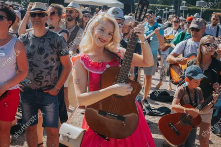 Editorial image of Guitar World Record In Wroclaw, Poland - 19 Jun 2021