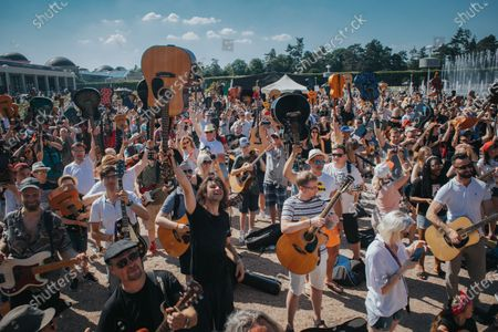 Editorial picture of Guitar World Record In Wroclaw, Poland - 19 Jun 2021