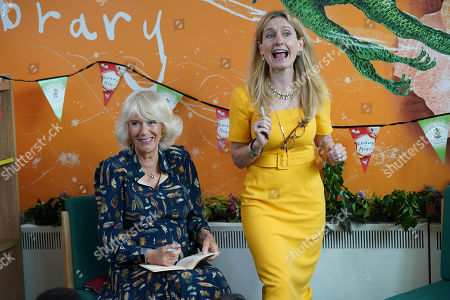 Editorial photo of Camilla Duchess of Cornwall visit to Griffin Primary School, Nine Elms, London, UK - 22 Jun 2021