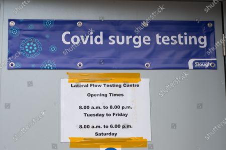 Due to the spread of the Covid-19 Indian Variant and the number of positive Covid-19 cases in Slough Covid-19 surge testing is taking place across Slough. The mobile testing centres were quiet today though with more staff and volunteers on hand rather than local residents being tested