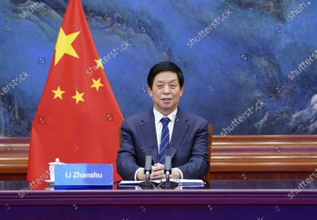 Editorial picture of China Beijing Li Zhanshu Serbia Talks - 22 Jun 2020