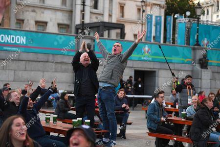 England fan zone, London