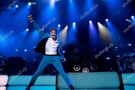 David Bisbal performs on stage on occasion of his 'En tus planes 2021' tour kick off concert at Wizink Center in Madrid, Spain, 22 June 2021.