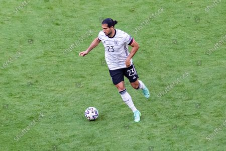 Emre Can of Germany seen in action during the UEFA EURO 2020 Championship Group F match between Portugal and Germany at Football Arena Munich.(Final score; Portugal 2:4 Germany)