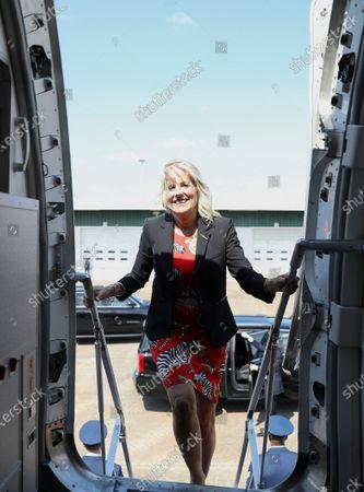 Editorial photo of Jill Biden, Pearl, United States - 22 Jun 2021