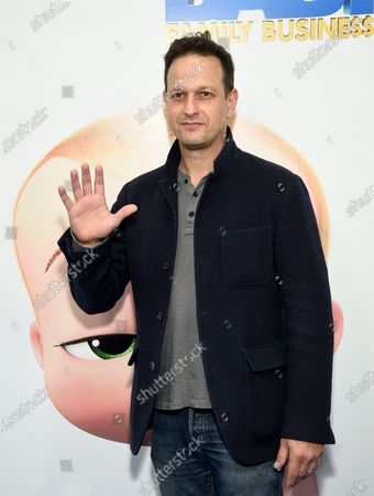 """Stock Image of Actor Josh Charles attends the world premiere of """"The Boss Baby: Family Business"""" at the SVA Theatre, in New York"""